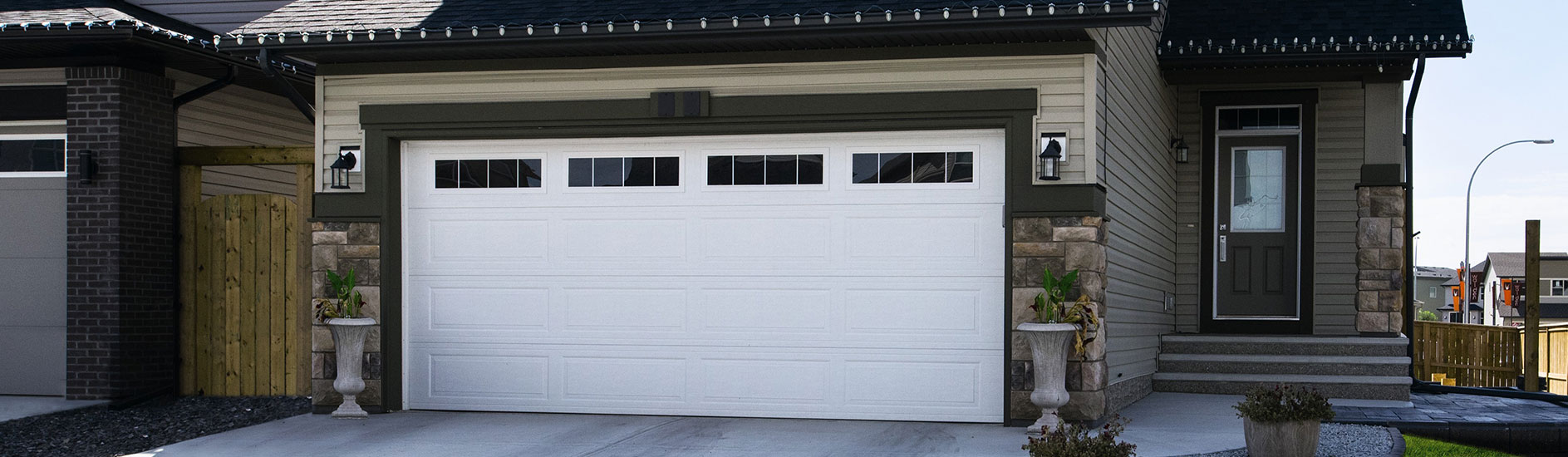 door garage doors with unique designs