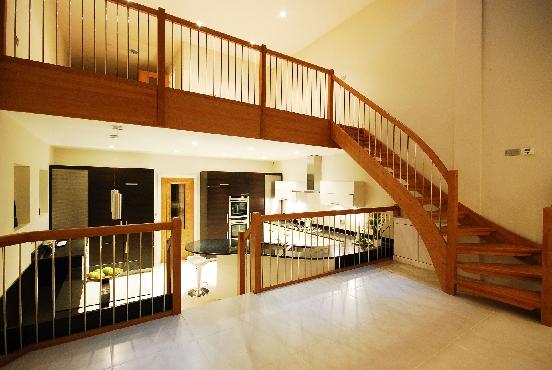 How to Fit a Wooden Staircase to Wooden Floorboards